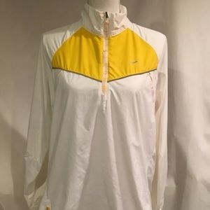 Nike LiveStrong  Pullover Jacket Womens XL White